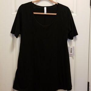 LuLaRoe Perfect T Black Size M NWT